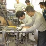 関西金属ヘラ絞り体験